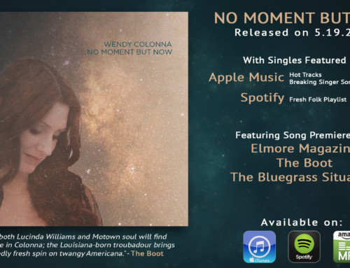 NO MOMENT BUT NOW Release! Interviews & Reviews