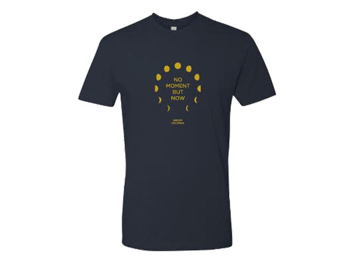 mens no moment but now t-shirt