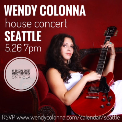 Seattle house concert
