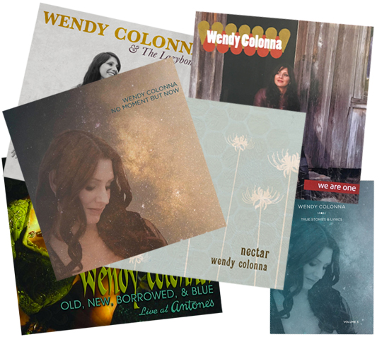 Wendy Colonna CD-book-Holiday-Bundle